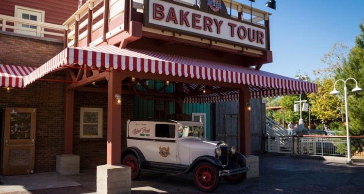 Boudin Bakery Tour Disney California Adventure