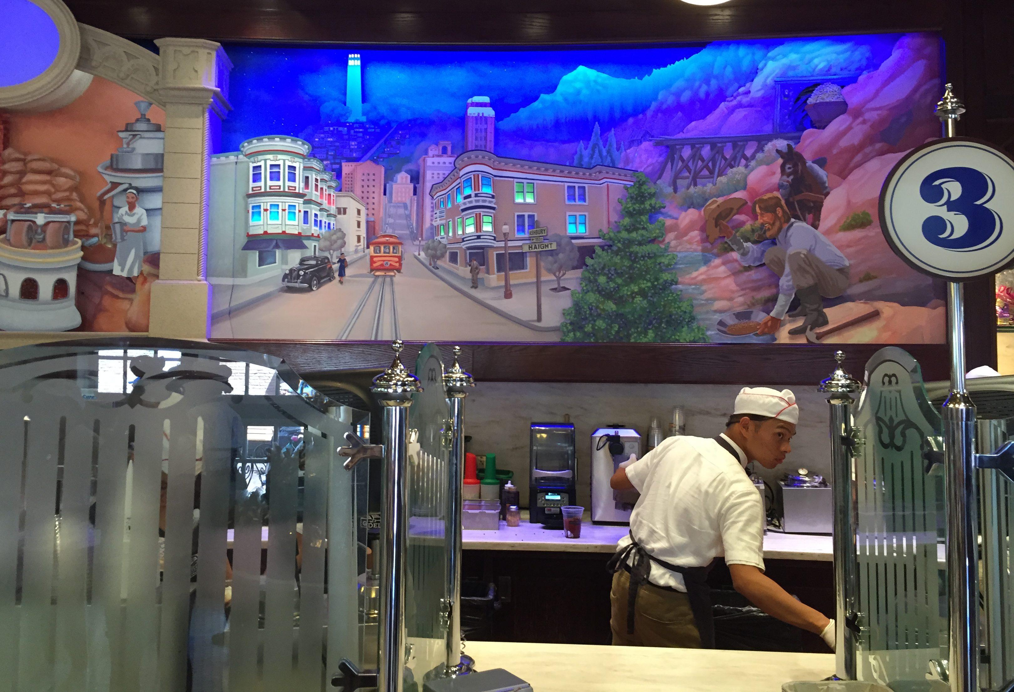 Disney California Adventure Ghiradelli Chocolate Factory