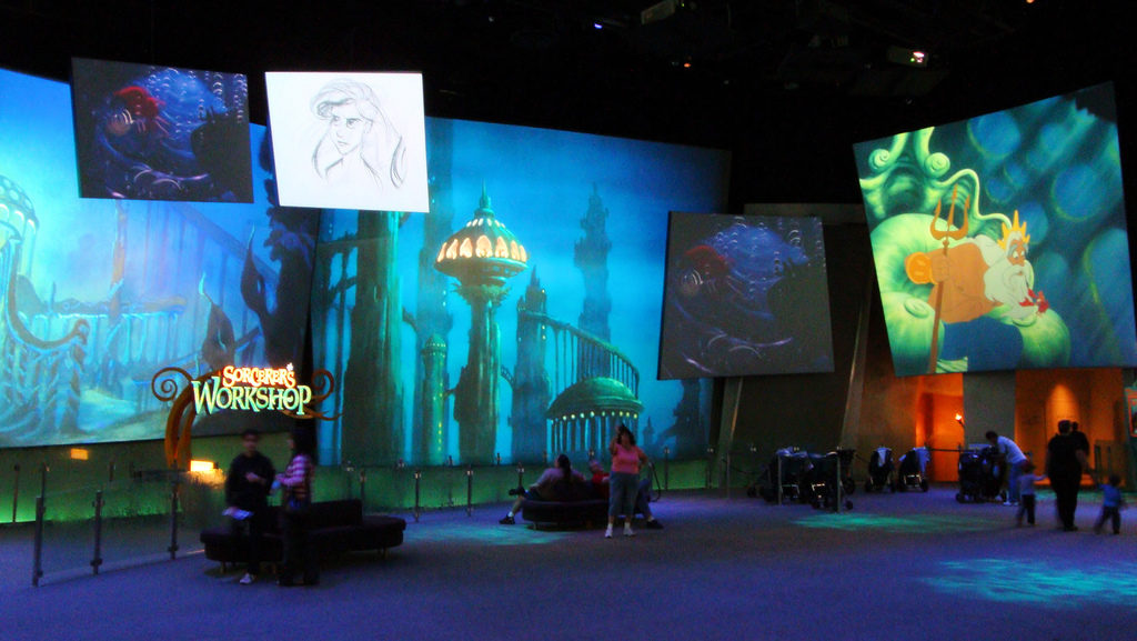 Animation Academy Disney California Adventure