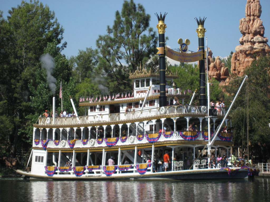 Disneyland Mark Twain Riverboat
