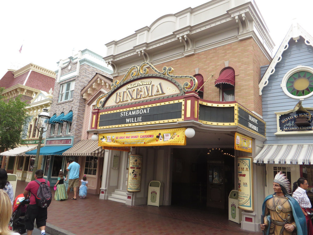 Disneyland Main Street Cinema