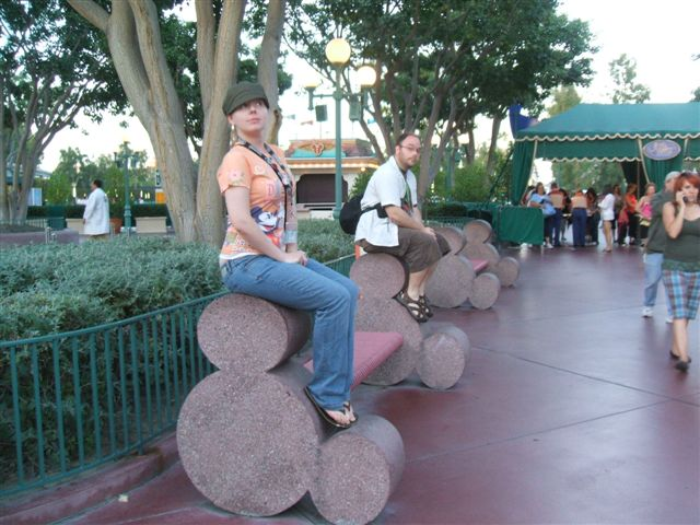 Disneyland Resort Hidden Mickey Benches